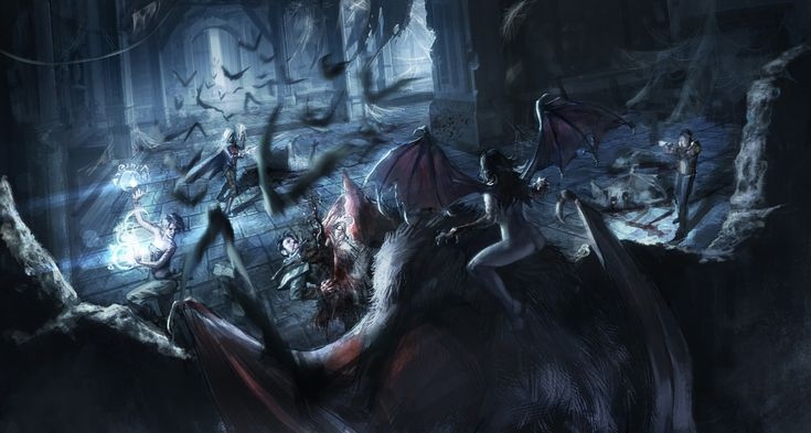 ArtStation - Succubus Attack, Paul Adam