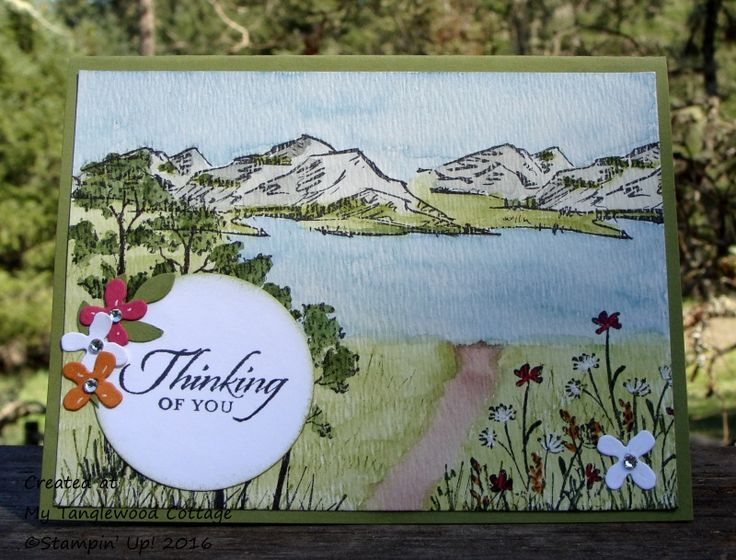 A Walk by the Lake by Stampin.Scrapper - Cards and Paper Crafts at Splitcoaststampers