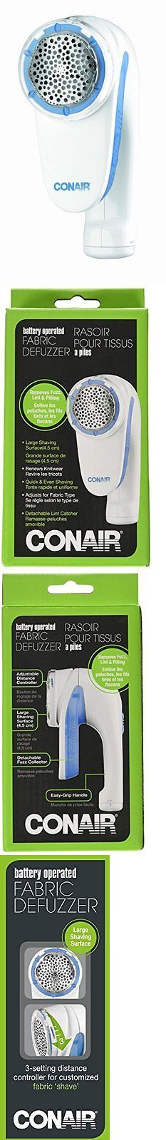 Lint Removers and Lint Shavers 170626: Conair Battery Operated Fabric Defuzzer Shaver 3 Distance Settings Free Shipping -> BUY IT NOW ONLY: $31.4 on eBay!