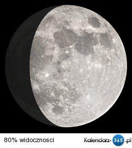 Fazy księżyca 2016 & 2017