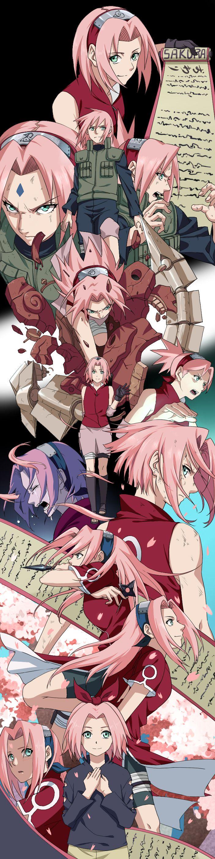 ✪️️ Sakura HARUNO ✪ ⭐ Pouvoir : Force surhumaine • Métamorphose • Technique de : Permutation, Dédoublement, Extraction du Poison, Invocation • Explosion de la fleur de cerisier • Rupture du sceau • Puissance des Cent • Blizzard de Sakura ~ Série Anime/Films d'Animation : Naruto / Naruto Shippuden ~ [_MangAnime_]