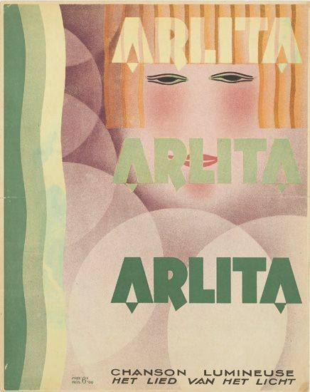 "René Magritte, ""Arlita / Chanson Lumineuse,"" c. 1925"