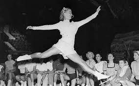 Barbara Ann Scott was a petite woman, but a tough competitor!