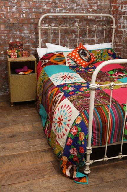 patchwork urban outfitters, couvre-lit patchwork