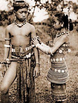 Dayaknese Tribal Dress