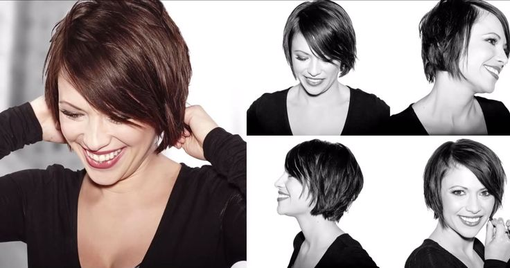 How To Blow Dry Short Hair for a Textured Finish / Sam Villa - Consumers