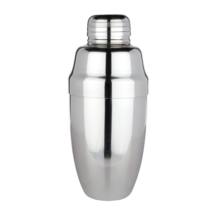 Start shaking cocktails like a pro with the Viski Professional Heavyweight Cocktail Shaker with a built-in strainer.
