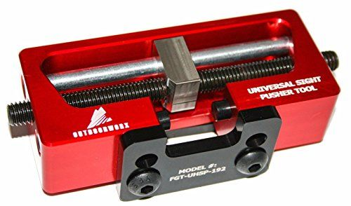 Universal Sight Pusher Tool for Handguns- Easily Remove/Install Gun Sights for 1911, Glock, Sig, Springfield, Beretta and More