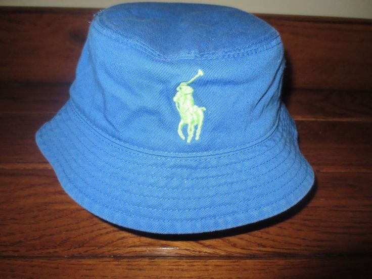 NEW POLO  RALPH  LAUREN  BABY  BOY  BUCKET  HAT  BIG  PONY   9 - 24 MONTHS   #PoloRalphLauren