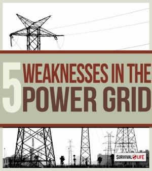 Is Power Grid Failure in Our Future? | 5 Weaknesses in the National Electric Grid | Survival Prepping Ideas, Survival Gear, Skills & Emergency Preparedness Tips - Survival Life Blog: survivallife.com #survivallife #prepping #emergencypreparedness