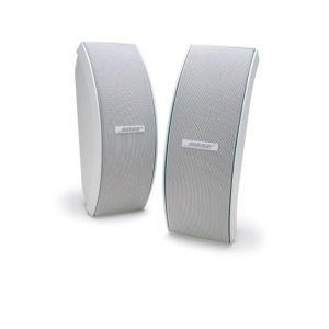 Bose 151 SE Environmental speaker (including brackets) wit  Bose 151 weerbestendige luidsprekers leveren de prestaties en duurzaamheid die nodig zijn voor een volle weergave van stereogeluid in een breed luistergebied. Onze populairste weerbestendige luidsprekers zijn elegant en geschikt voor luisteren naar muziek aan het zwembad op het terras of zelfs op de boot. Met de verstelbare montagebeugels kunt u deze luidsprekers horizontaal of verticaal ophangen waardoor de luidsprekers eenvoudig…