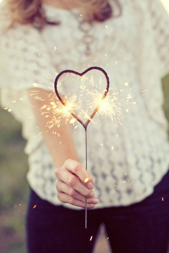 Heart Shaped Sparklers/ Heart Sparklers/ Wedding Sparklers/ 90 Second Sparklers/ Sparklers for great photos/ 6 PCS per pack