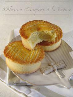 Gâteaux Basques à la Crème / j'en ai fait 4, bons à essayer avec conf de framboise dedans ou nut