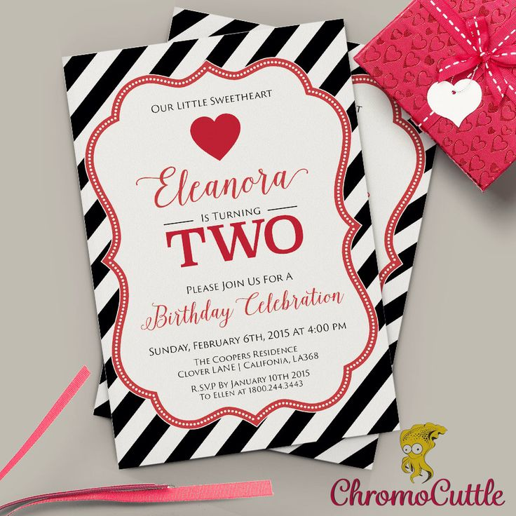 24 best Invitations : Valentine Party images on Pinterest ...