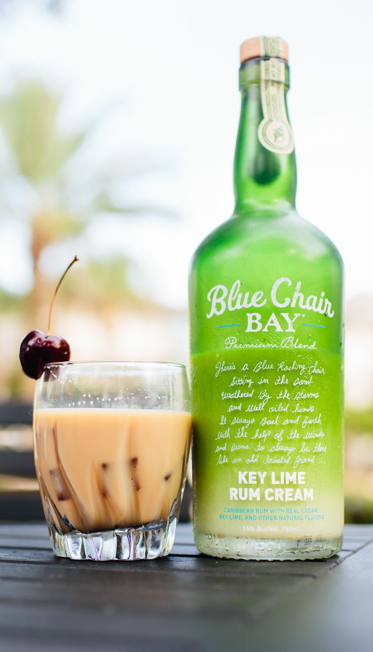 Coffee And Pie Cocktail 1 Oz Blue Chair Bay Key Lime