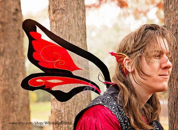 Custom Adult Fairy Wings, Dragon Wings, Festival Costume Wings- DEPOSIT ONLY