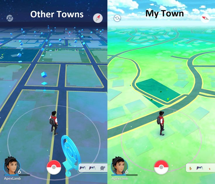 [Pokemon Go] Other Towns vs. My Town