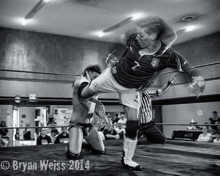Low light action - Wrestling and portrait — Daytripper Photo