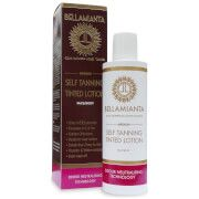 Bellamianta Self Tanning Tinted Lotion - Medium Discover a ready-to-wear tan with the Medium Self Tanning Tinted Lotion from Bellamianta. Arriving as an easy to use lotion, the tan works to deliver a streak-free golden glow to the face and body of  http://www.MightGet.com/march-2017-1/bellamianta-self-tanning-tinted-lotion--medium.asp