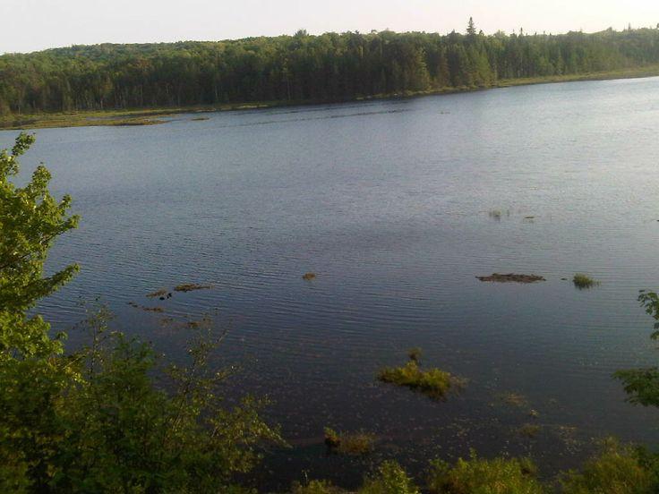 Lake on the road to Algonquin Park. #Kearney #AlgonquinPark