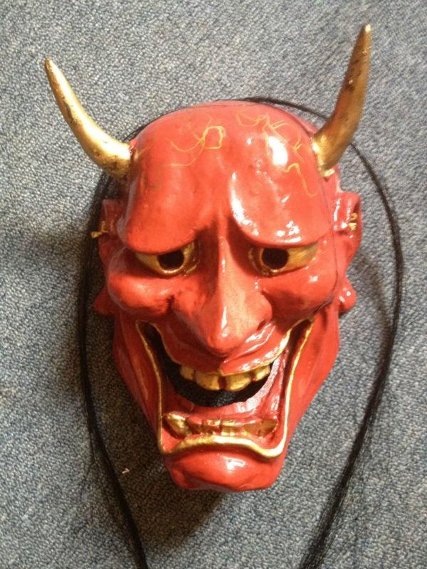 Buddhist singles in red devil
