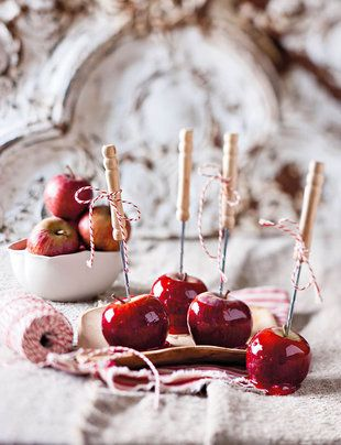 Toffee appels - Toffee apples #traktatie