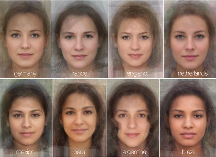 LOOK: Scientists 'blended' the faces of thousands of women. The results are amazing. on http://www.mamamia.com.au