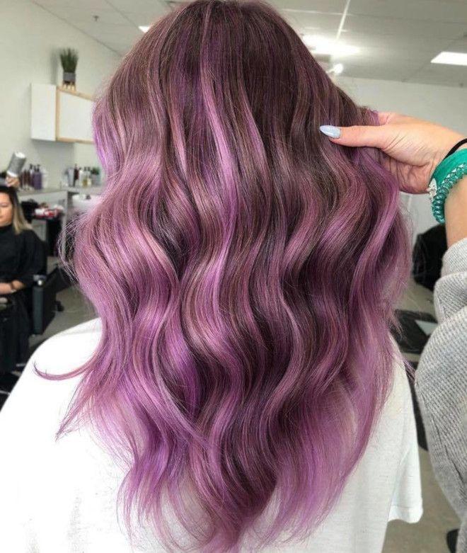 The Prettiest Cool Toned Dye Jobs For Hot Summer Days In 2020 Hair Light Brown Hair Purple Hair