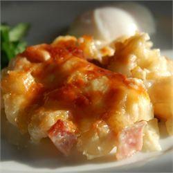 Cheesy Ham and Hash Brown Casserole - Allrecipes.com