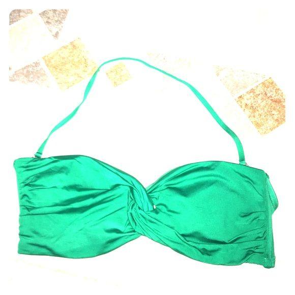 Massimo Green Halter Bikini Top Massimo by Target green halter bikini top. Size Medium. Padded with wires on sides for support. Massimo Swim Bikinis