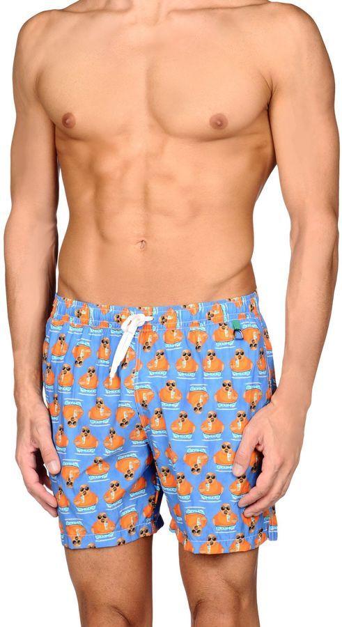 LA RANA Milano Swim trunks