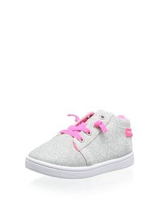 56% OFF Carter's Aken Fashion Sneaker (Toddler/Little Kid) (Silver)