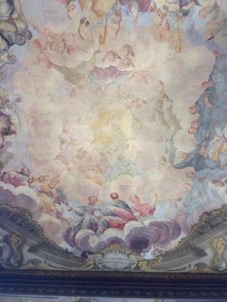 Fresco - uffizi gallery florence