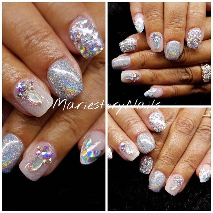 12 mentions J'aime, 1 commentaires – MariestoryNails (@mariestorynails) sur Instagram : «#glitternails #nailart #nailartoohlala #nailswag #nailartobsessed #nails #nailartlove #nailtech…»