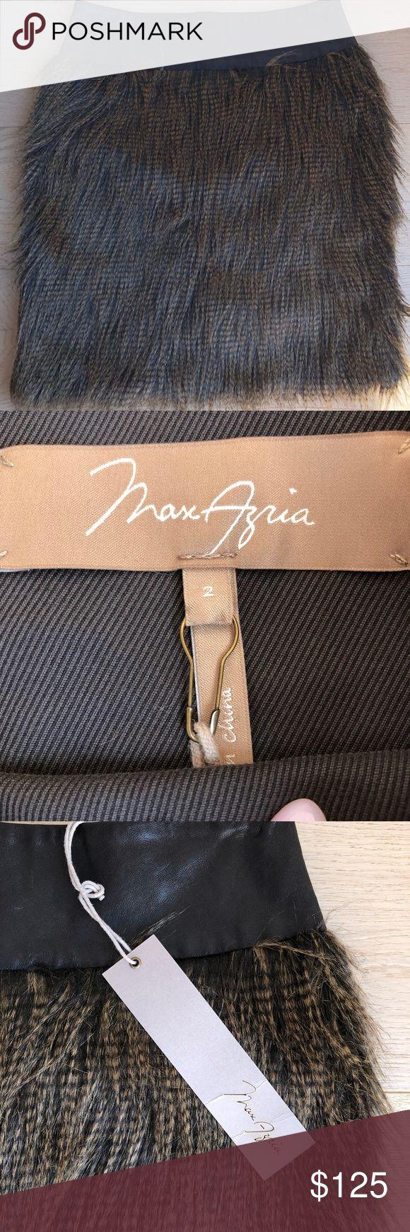 Max Azria skirt Max Azria skirt. Brand new never worn. Has tag shown above. Perfect for fall 🍁🍂 BCBGMaxAzria Skirts Midi
