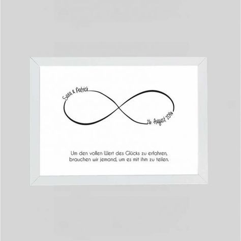 "Personalized picture ""Infinity"""
