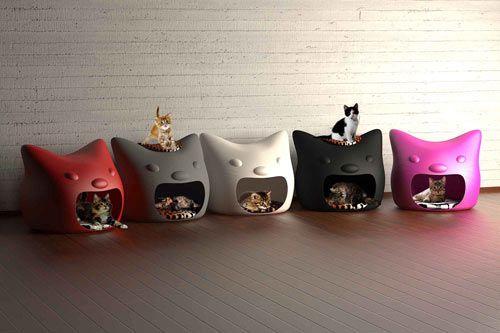 kitty houses