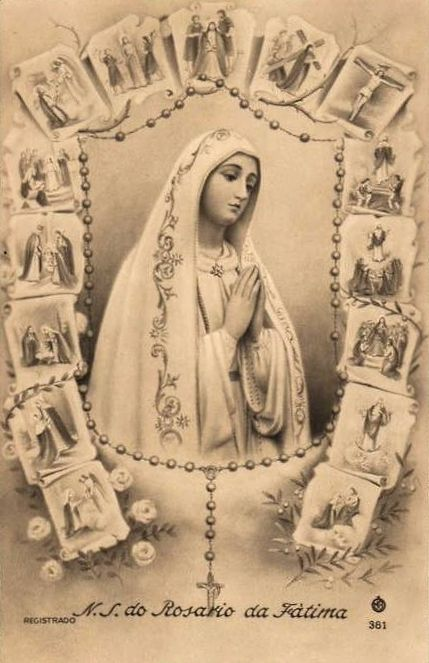 """""""Say the rosary everyday to obtain peace for the world."""" Our Lady of Fatima Our Lady of Fatima, pray for us!"""