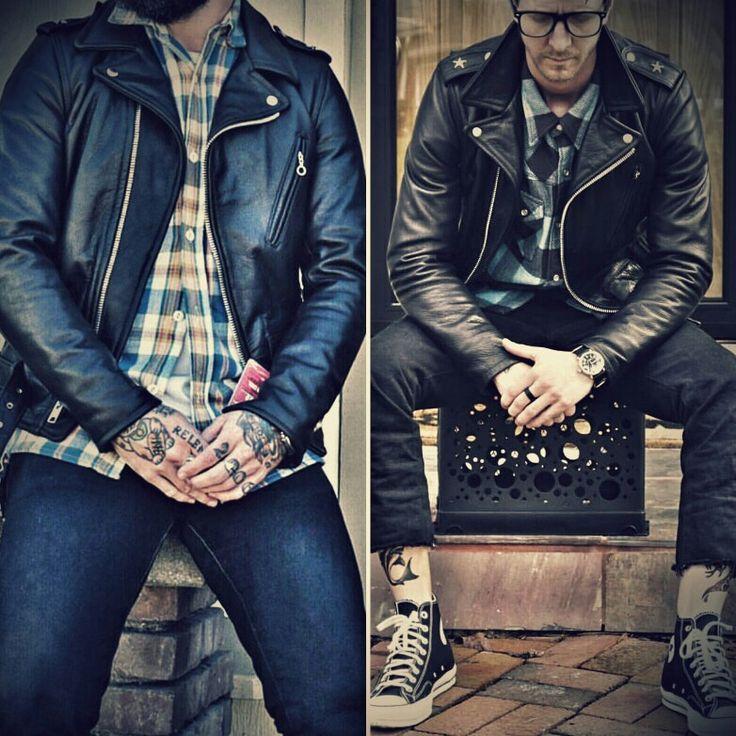 519 Schott perfecto | Leather | Pinterest
