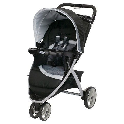 The Graco Pace Click Connect Stroller Features A Three Wheel With One Hand Fold Accepts All Infant Car Seats