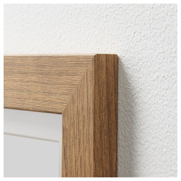 Dalskarr Frame Wood Effect Light Brown 8x10 Wood Frame Gallery Wall Frames Wood