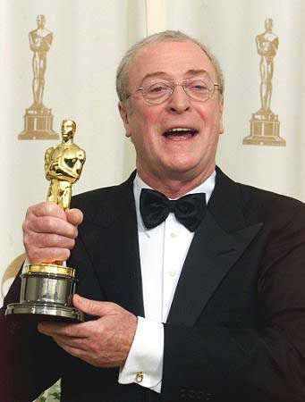Michael Caine won best supporting actor for The Cider House Rules in 1999 his second of two Oscar wins