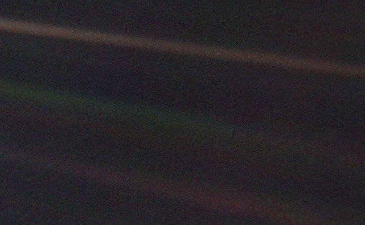 Earth - A Blue Dot