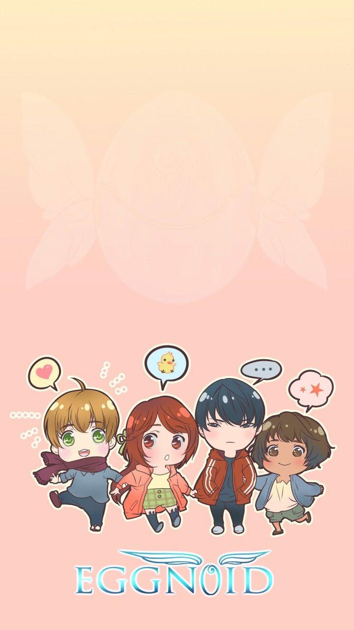 Eggy, Ran, Olfie, and Grace