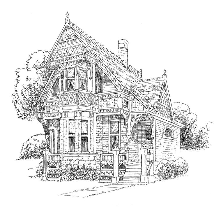 14 best adult victorian coloring pages images on Pinterest