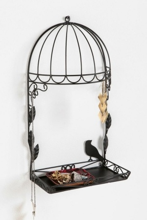 cute: Decor, Jewelry Hangers, Urban Outfitters, Cage Jewelry, Stands Online, Jewelry Stands, Birdcages Jewelry, Birds Cage, Urbanoutfitt With