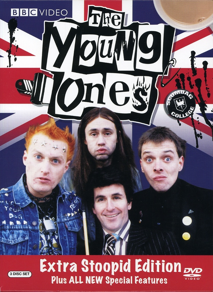 The Young Ones - favourite Lads comedy as enjoyed by Andrew Bailey, in Visions.
