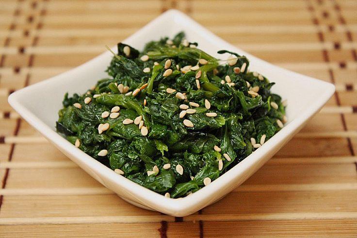 Spinatsalat mit Sesamdressing, ein sehr schönes Rezept aus der Kategorie Gemüse. Bewertungen: 126. Durchschnitt: Ø 4,5.
