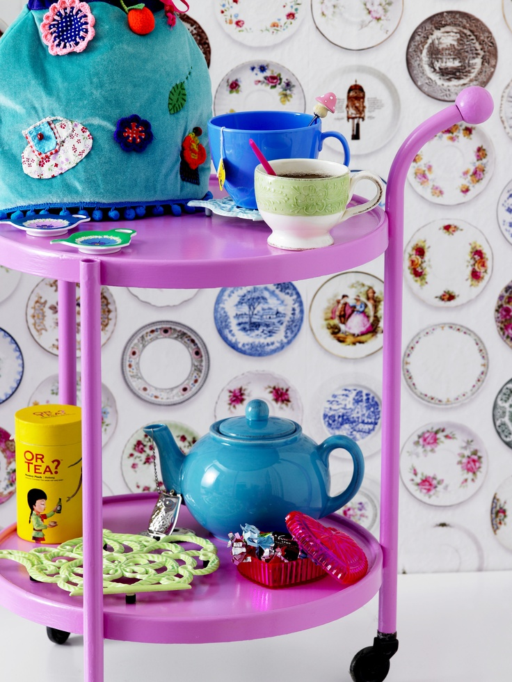 Tea Time - The RICE Italian Tableware Collection
