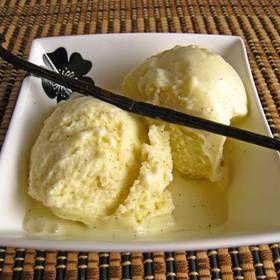 Domácí vanilková zmrzlina
